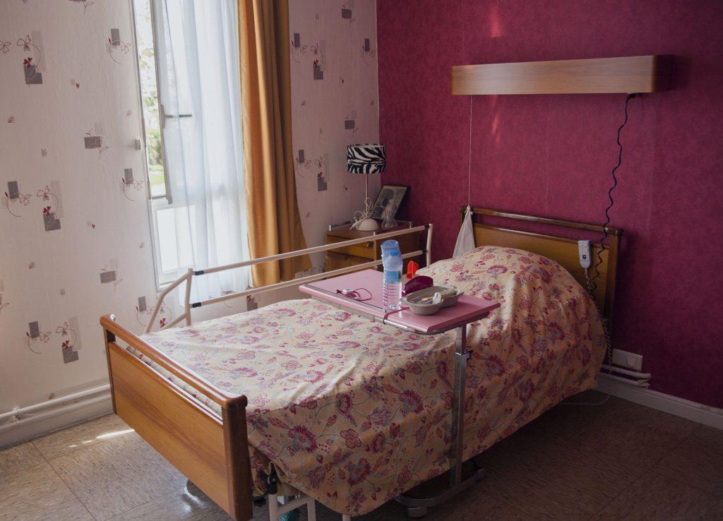 Lit chambre simple Abbé Lefrançois